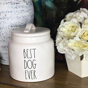 💕SOLD💕 BRAND NEW DOG BISCUIT CANISTER